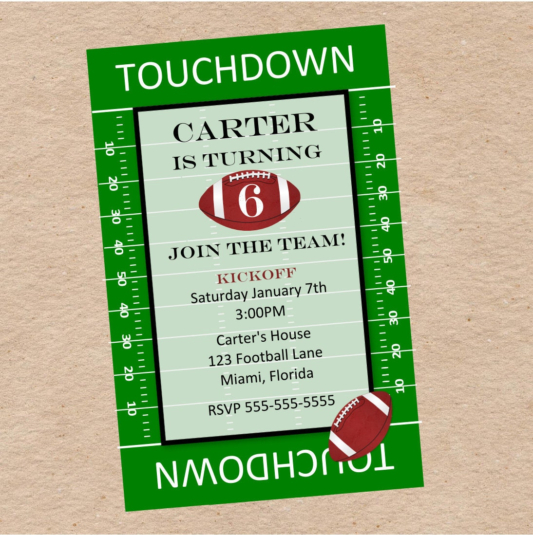 Superbowl Party Invite for best invitation sample