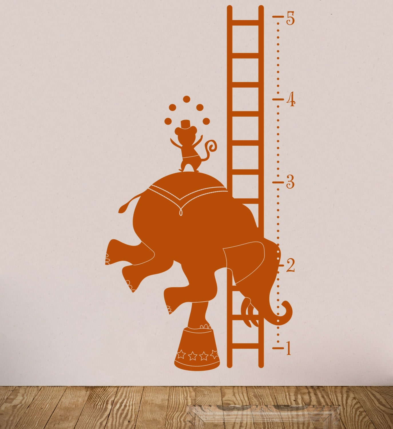 Etsy find wall decal growth charts circus growth chart item 30015 nvjuhfo Gallery