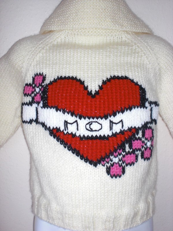 Heart Tattoo Sweater with Cowichan