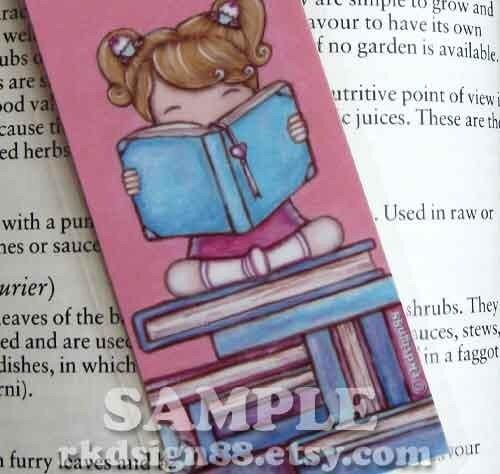 Cute Bookmark - Explore - blonde hair
