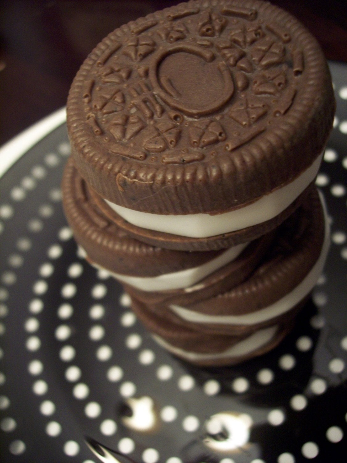 READY TO SHIP for Christmas - Organic Oreos - vegan soap