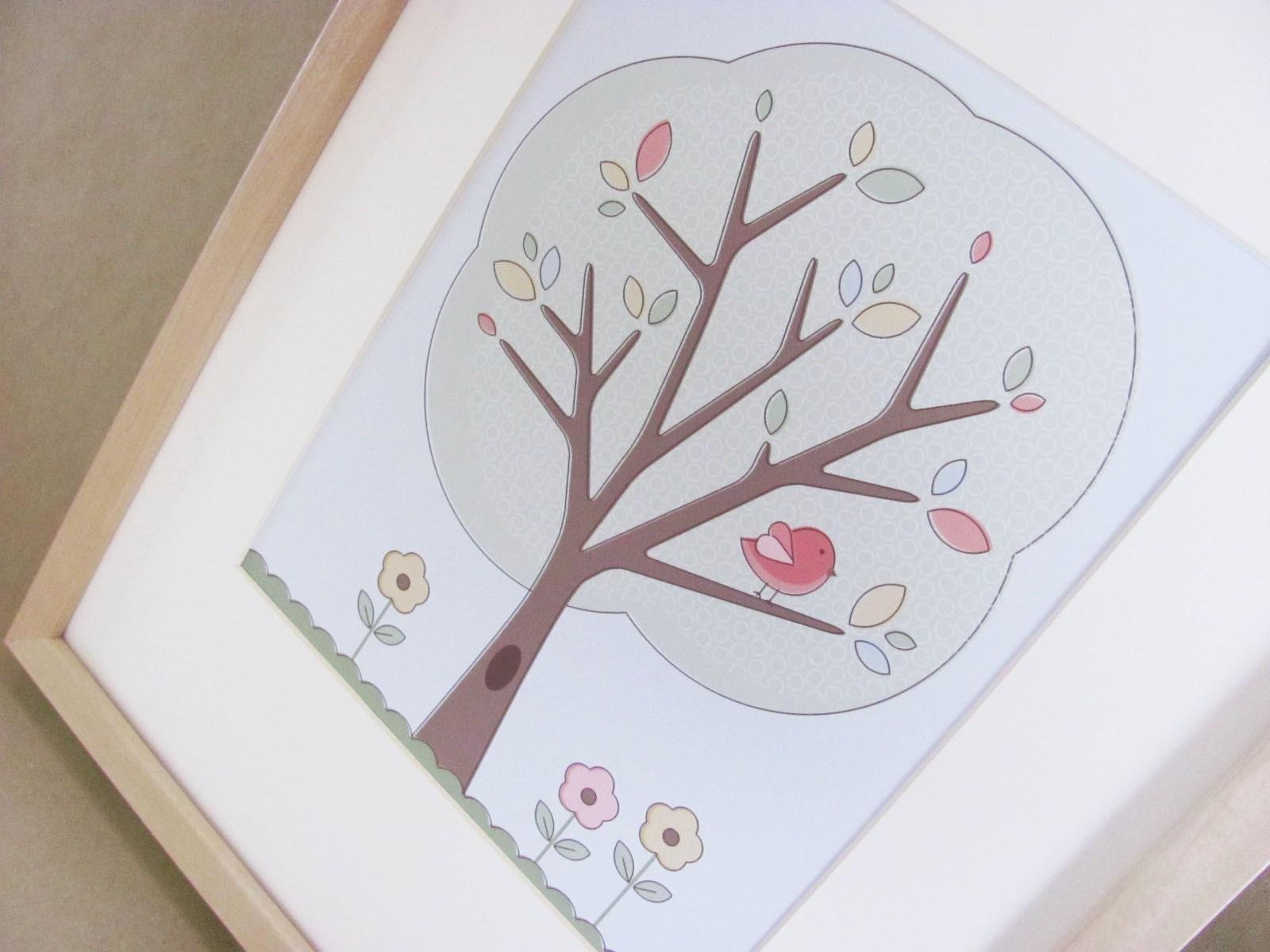 Nature Inspired Children's Print - Tree