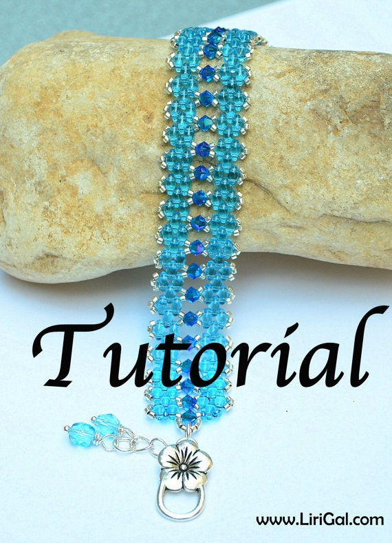Loren Super duo Beadwork Bracelet PDF Tutorial