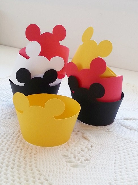 Popular items for mickey mouse toppers on Etsy