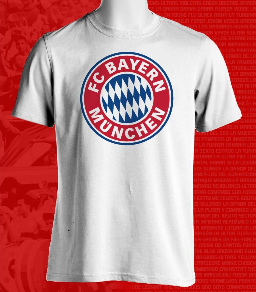 Bayern Munich Germany Bundesliga UEFA Champions Football Soccer T Shirt - FutbolFootballSoccer
