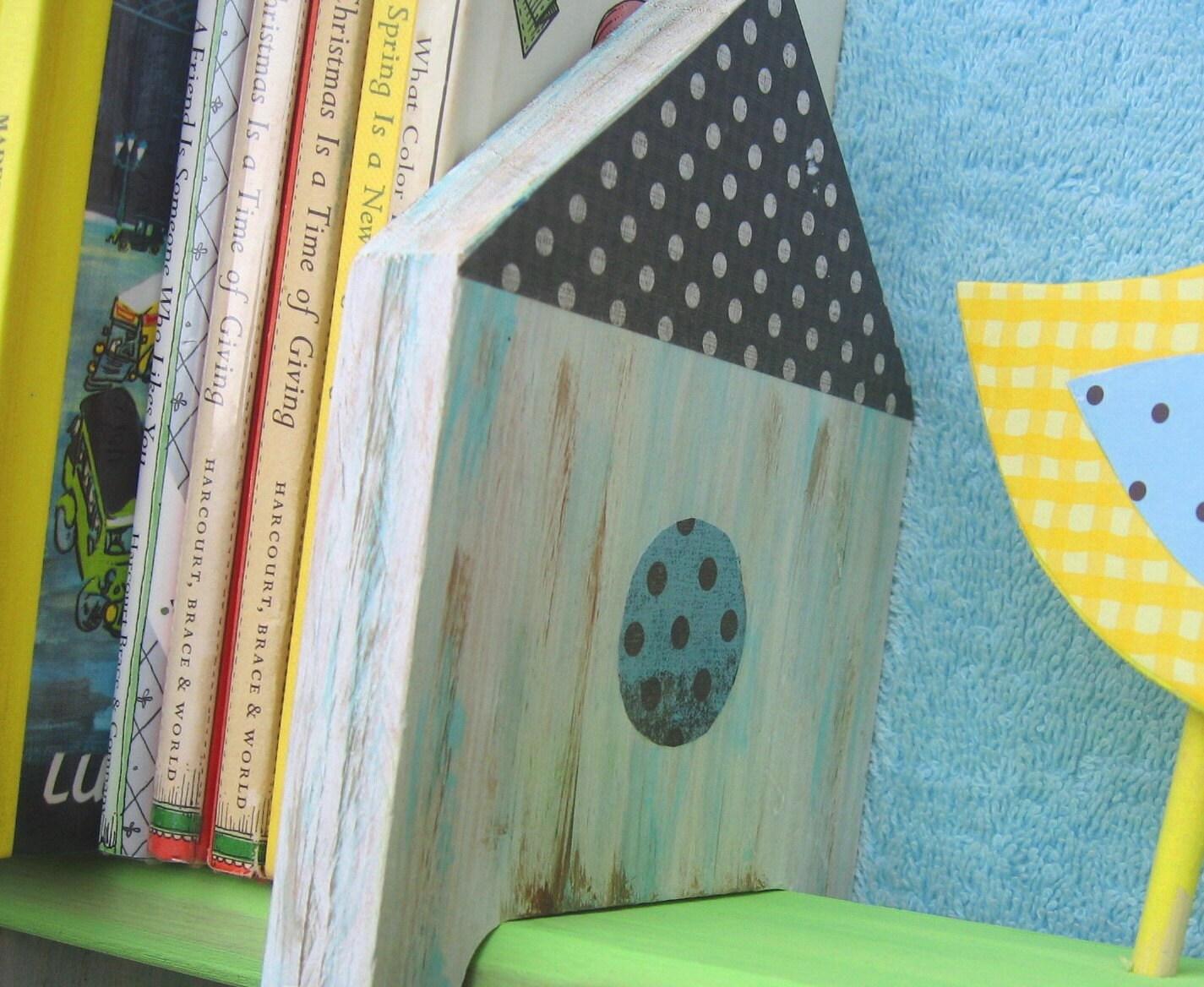 Книжная полка Хейли Птица Дети Керамика Barn Вдохновленный экологию по Storytime АРТ
