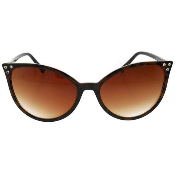 Vintage Cat Eye Wing Tip Rockabilly Greaser Sunglasses