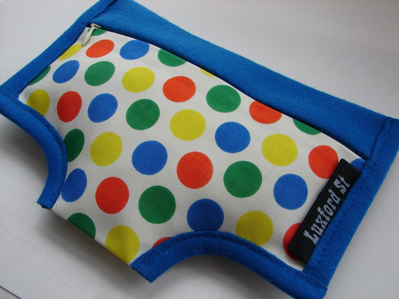 Undies Purse in Vintage Polka Dot