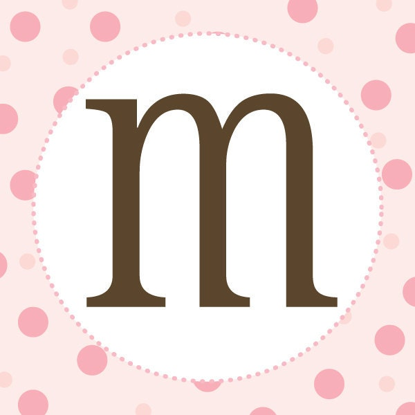 items similar to girl baby shower banner letters pink and brown