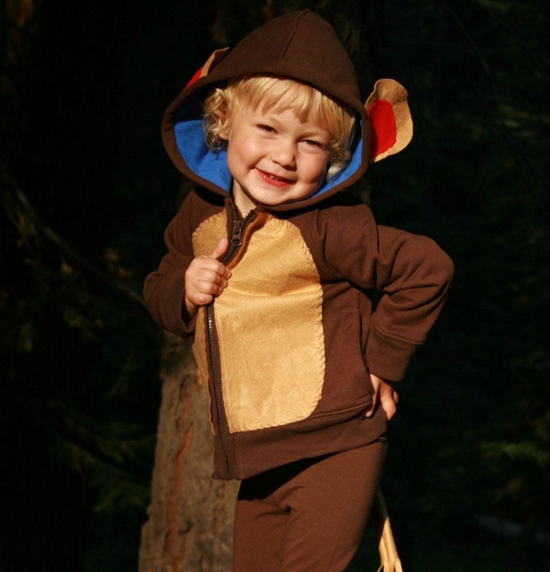 toddler monkey costume