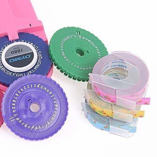 Labeling Label Maker Tape 9mm  -cherry