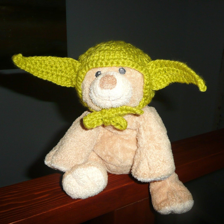 Crochet Yoda Hat for Cat or Small Dog PATTERN by gavandjack