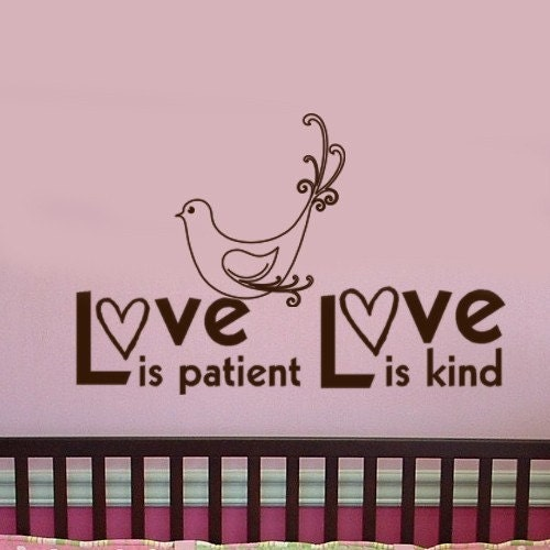 Love Is Patient Love Is Kind Quote: Love Is Patient Love Is Kind Magnetic Quotes Inspirations