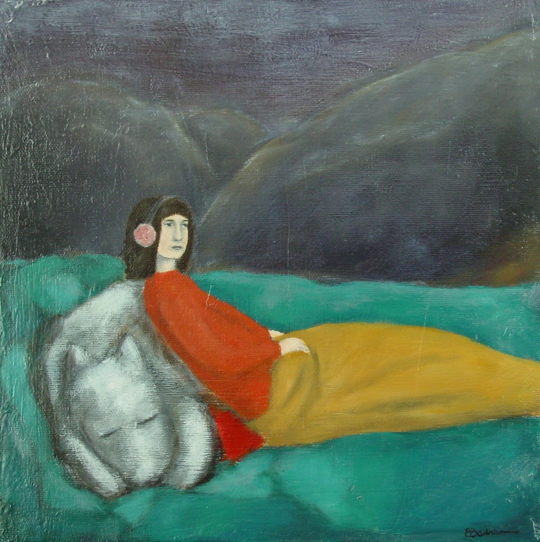 Comfort, Original Oil Painting