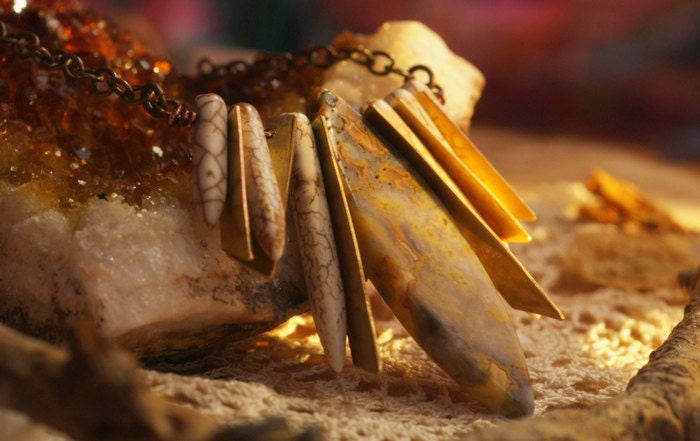 Lace Jasper necklace