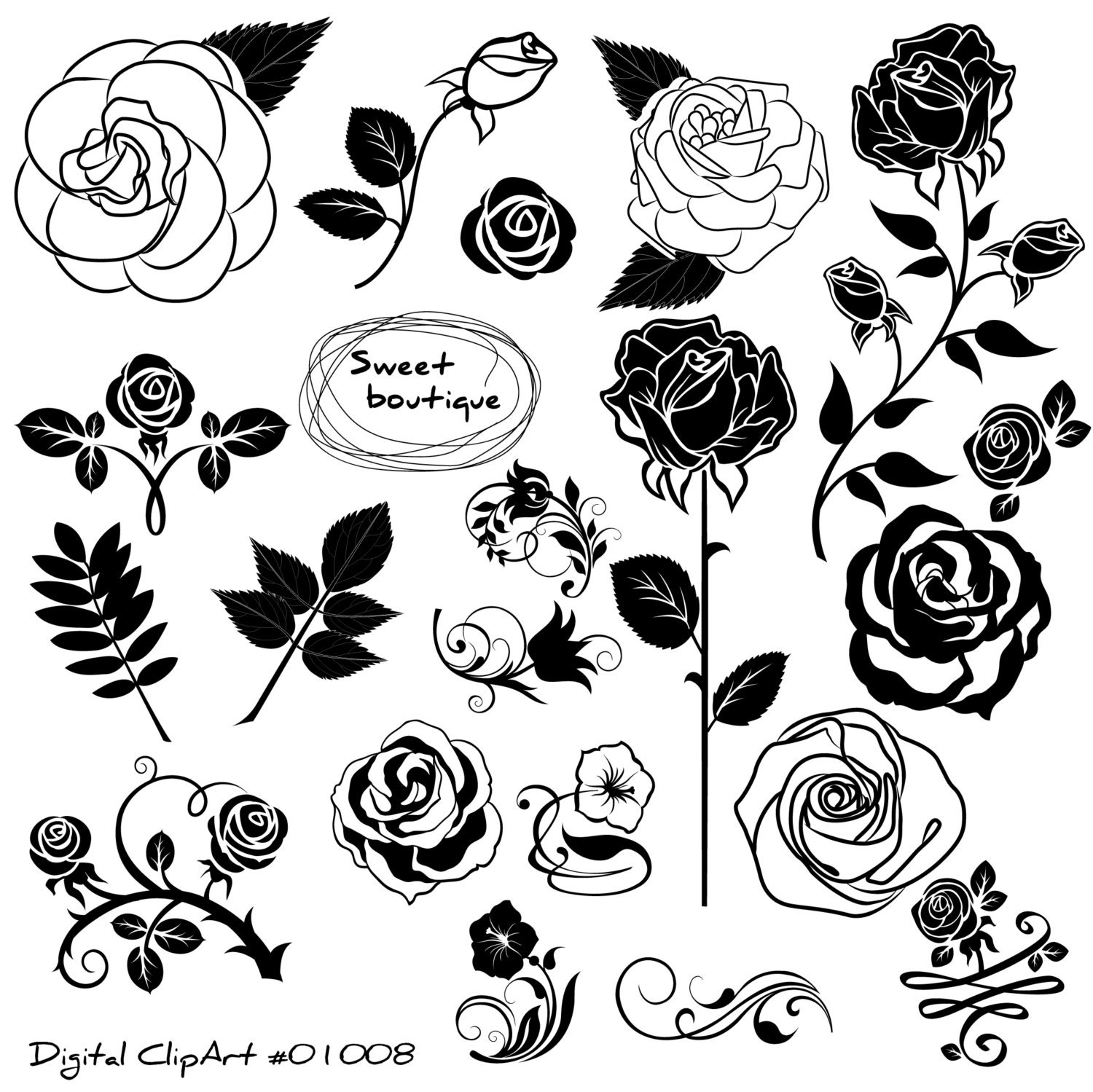 Black And White Rose Images Stock Photos amp Vectors