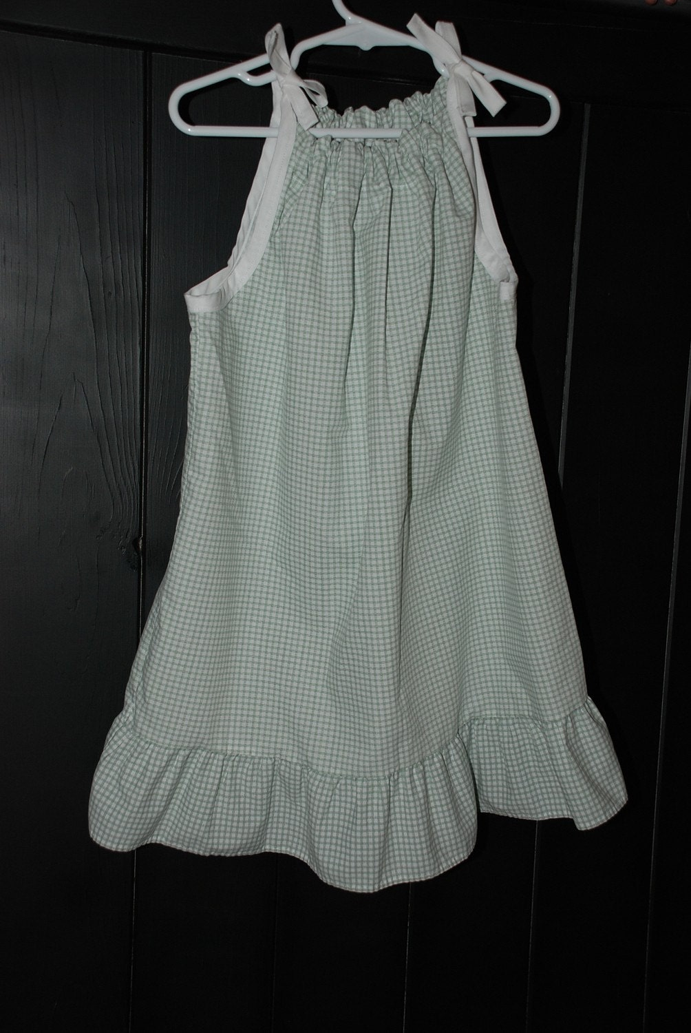 Upcycled Little Girls Pillowcase Dress Sz. 3/4 T ...FREE SHIPPING....