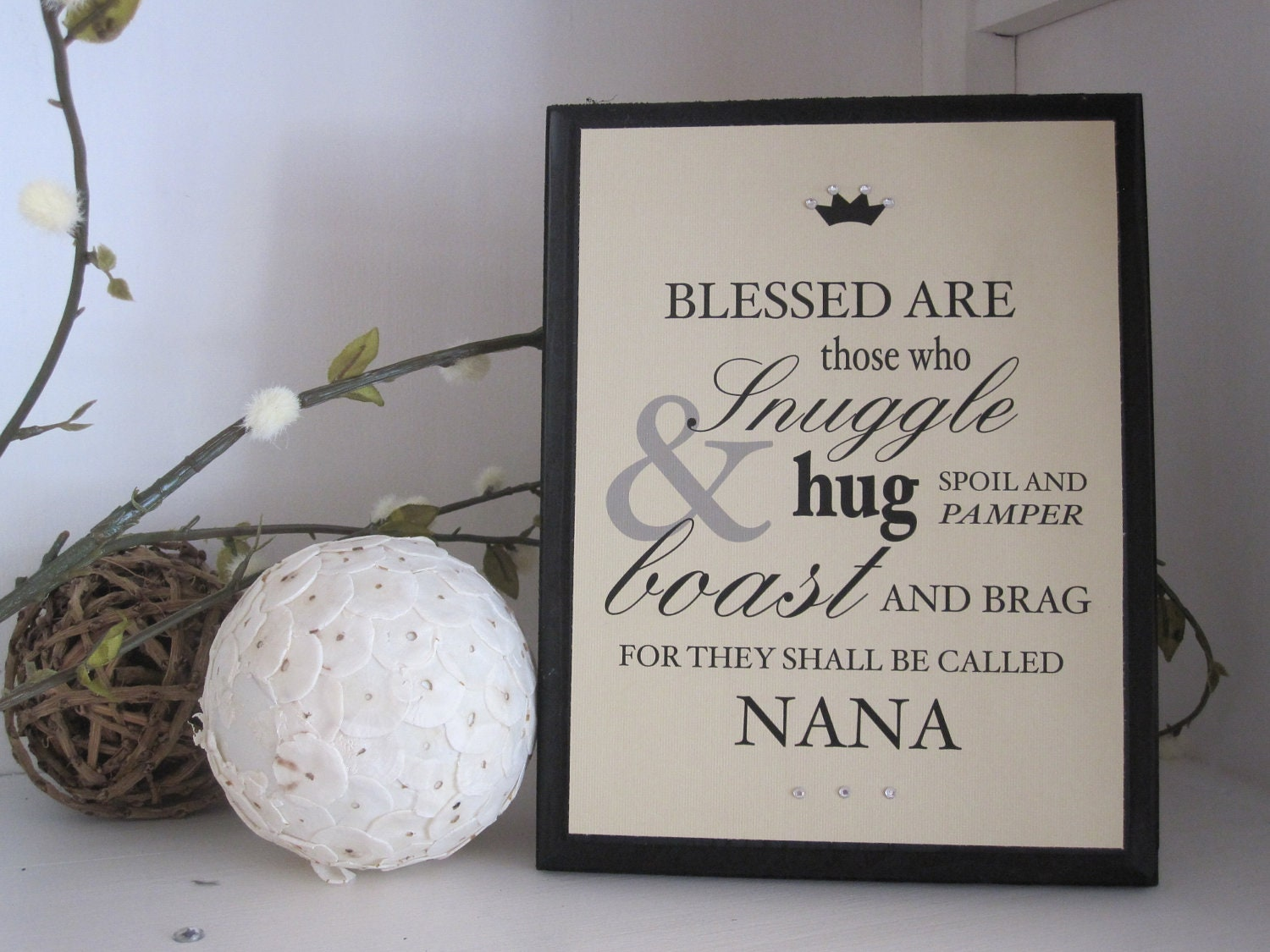 grandmother typography quote personalized gift by raisingseedlings