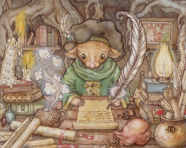 The Mouse Scribe