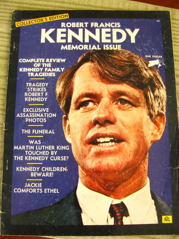 vintage 1968 JFK memorial issue collector's edition