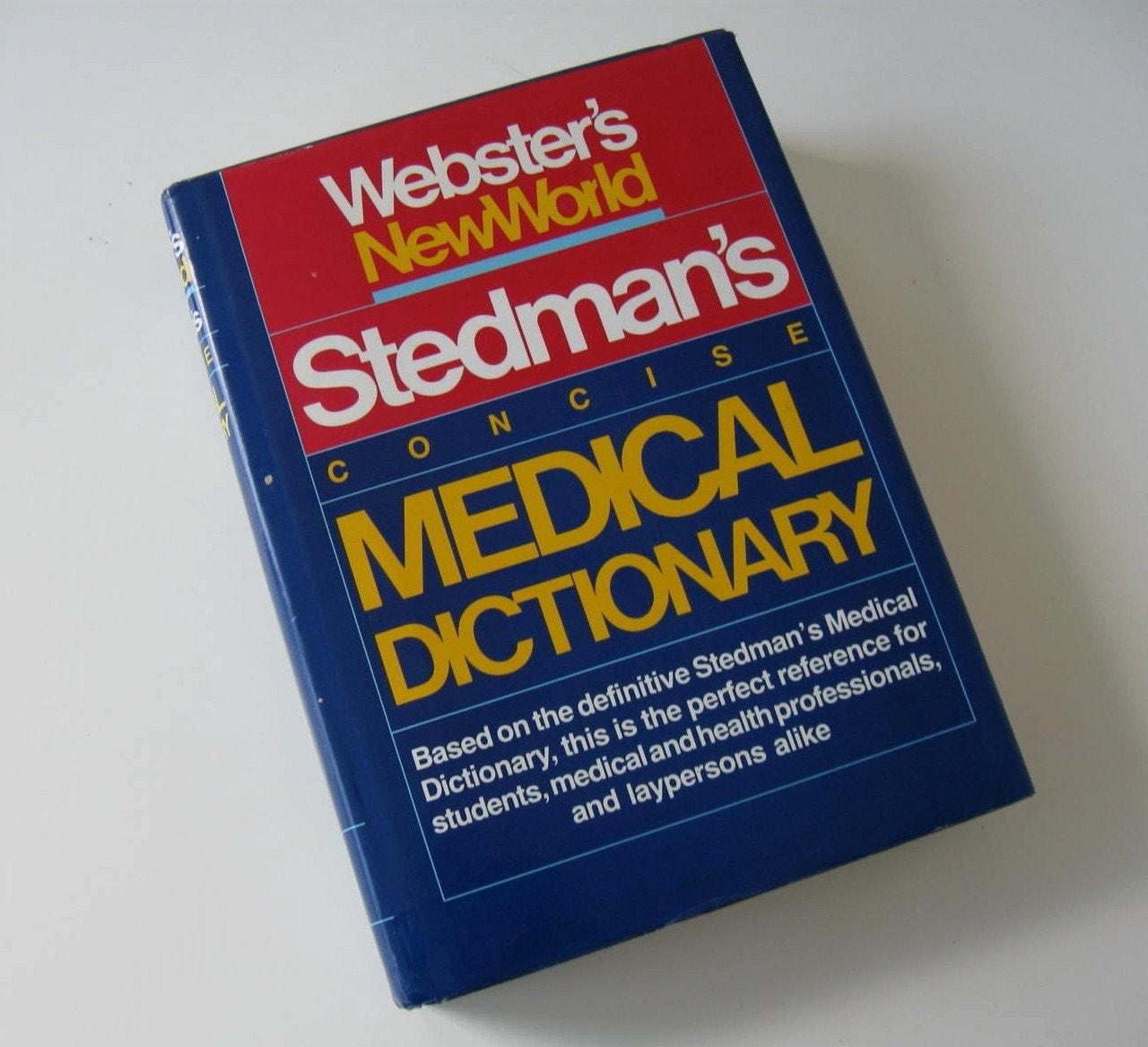 Medical dictionary