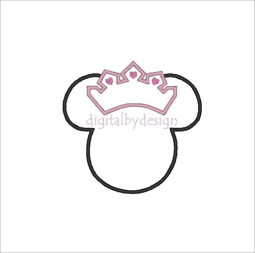http://ny-image2.etsy.com/il_fullxfull.138266810.jpg Minnie Mouse Printable Head Template