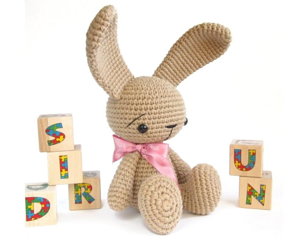 Crochet Amigurumi Bunny Tutorial : Unavailable Listing on Etsy