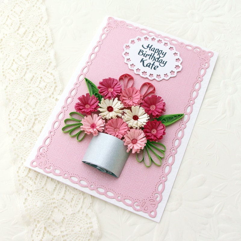 Flower Birthday Invitation as luxury invitation design