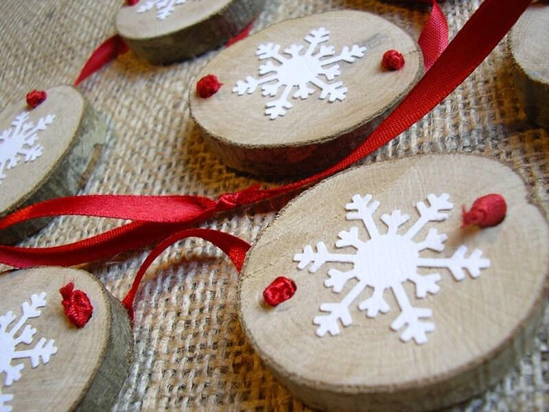 Snowflake Christmas Garland