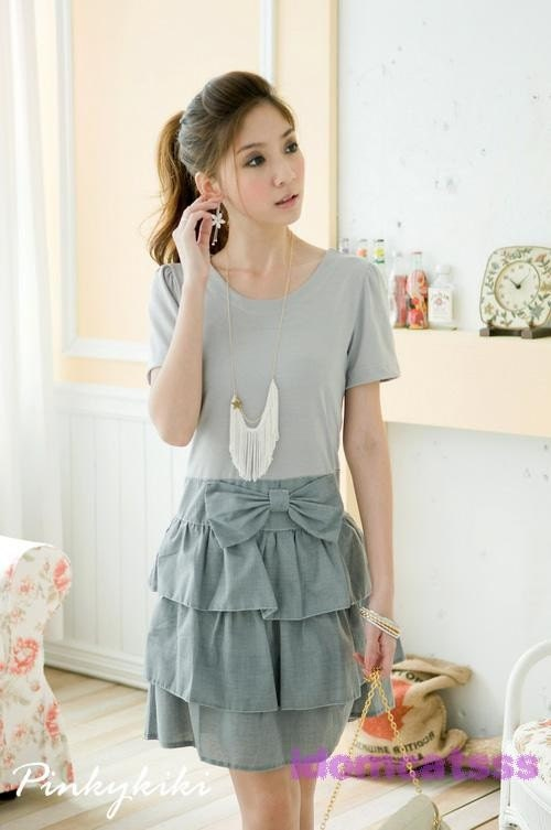 Vintage One piece dress Mini Dress 24
