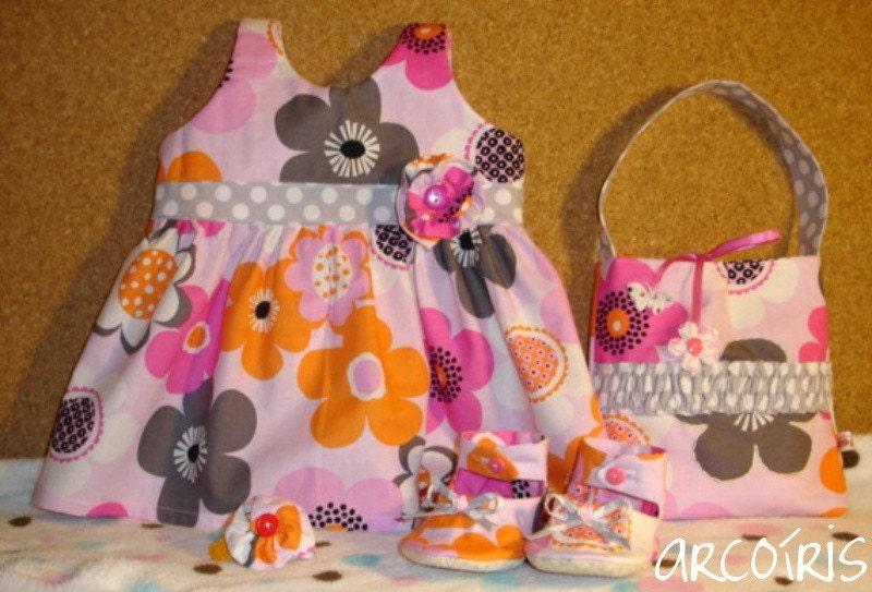 Flower Shower 5-piece Gift Set, OOAK