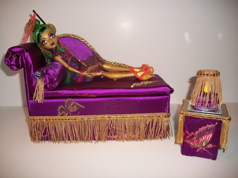 Кровать для куклы. Как сделать кровать для куклы своими руками? 6