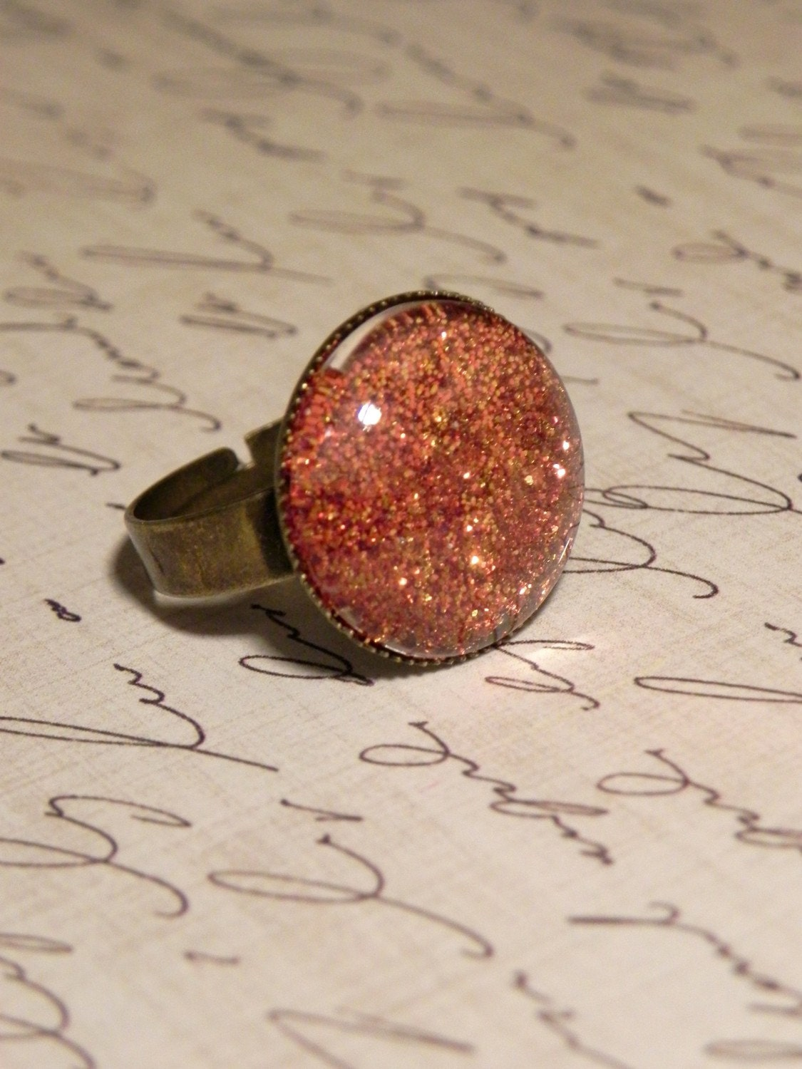 Geology: Opal Fire Cocktail Ring