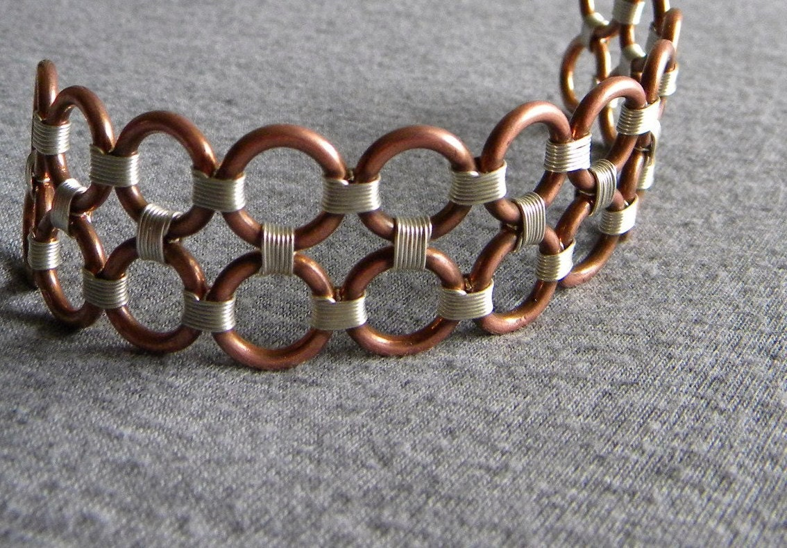 Weekly Special- Hera - Copper and Sterling silver