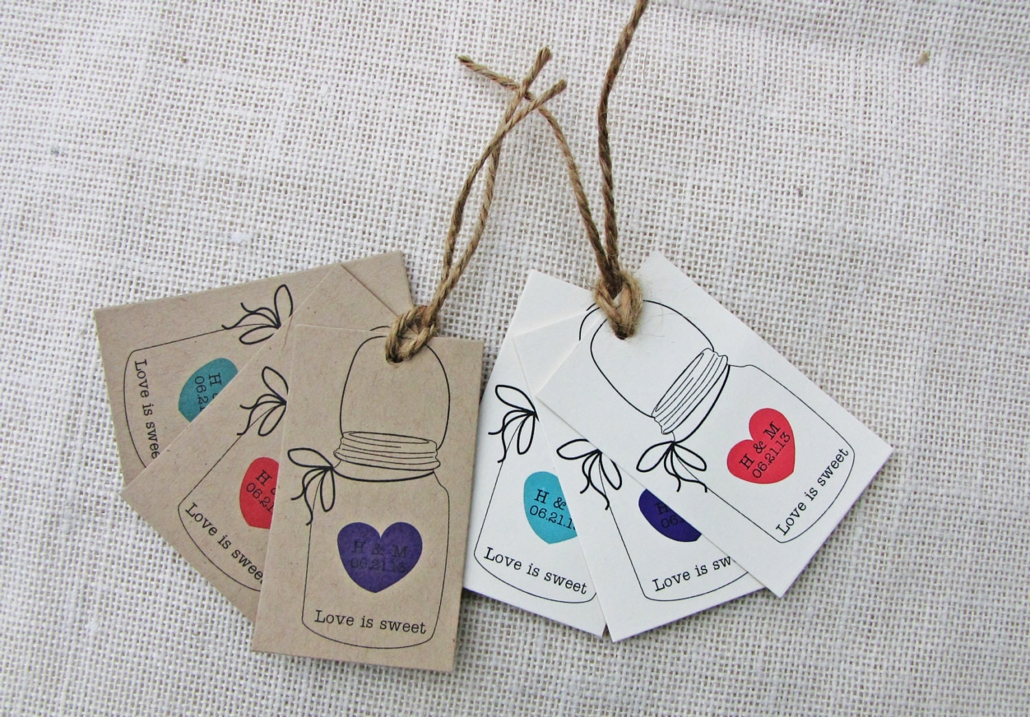 Wedding Favor Tags For Mason Jars : favorite favorited like this item add it to your favorites to revisit ...