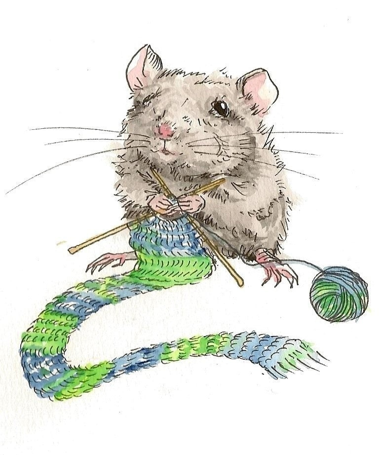 Card Set - Mice Need Scarves Too