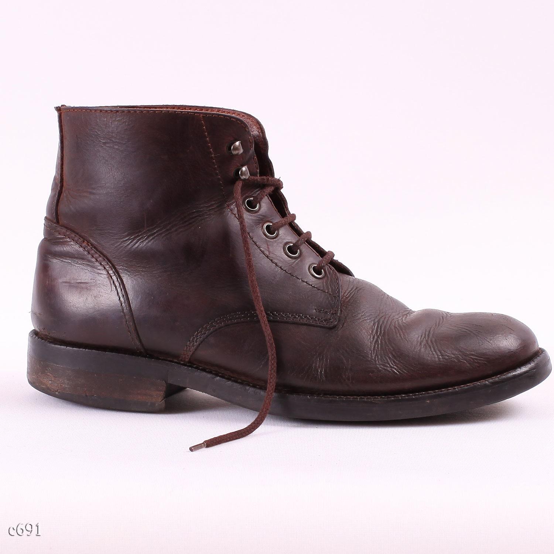Classy Brown Men Boots 80s Unisex Boots Sz By Betamenswear