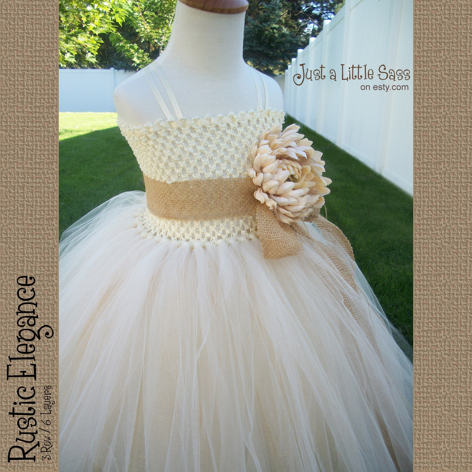how to make a tutu dress with ribbon straps
