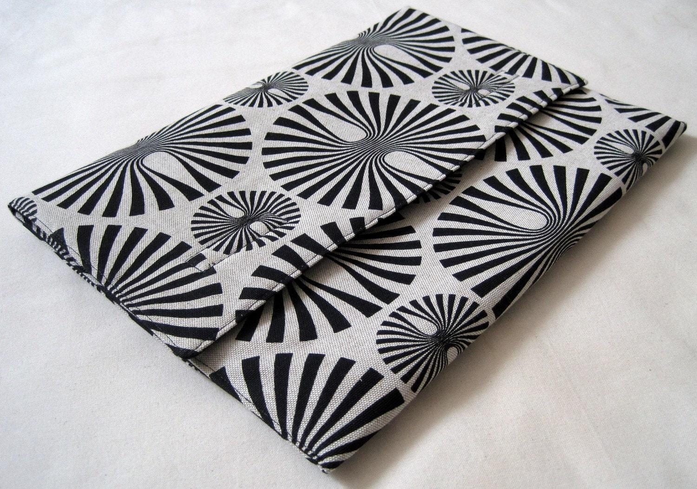 Padded cotton laptop sleeve