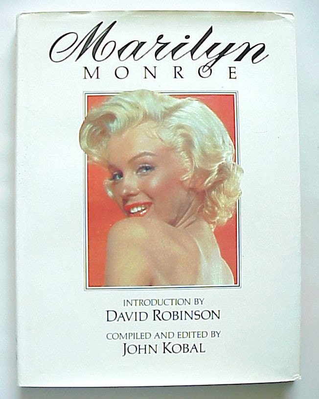 Marilyn Monroe By John Kobal 1974 Hardcover Book