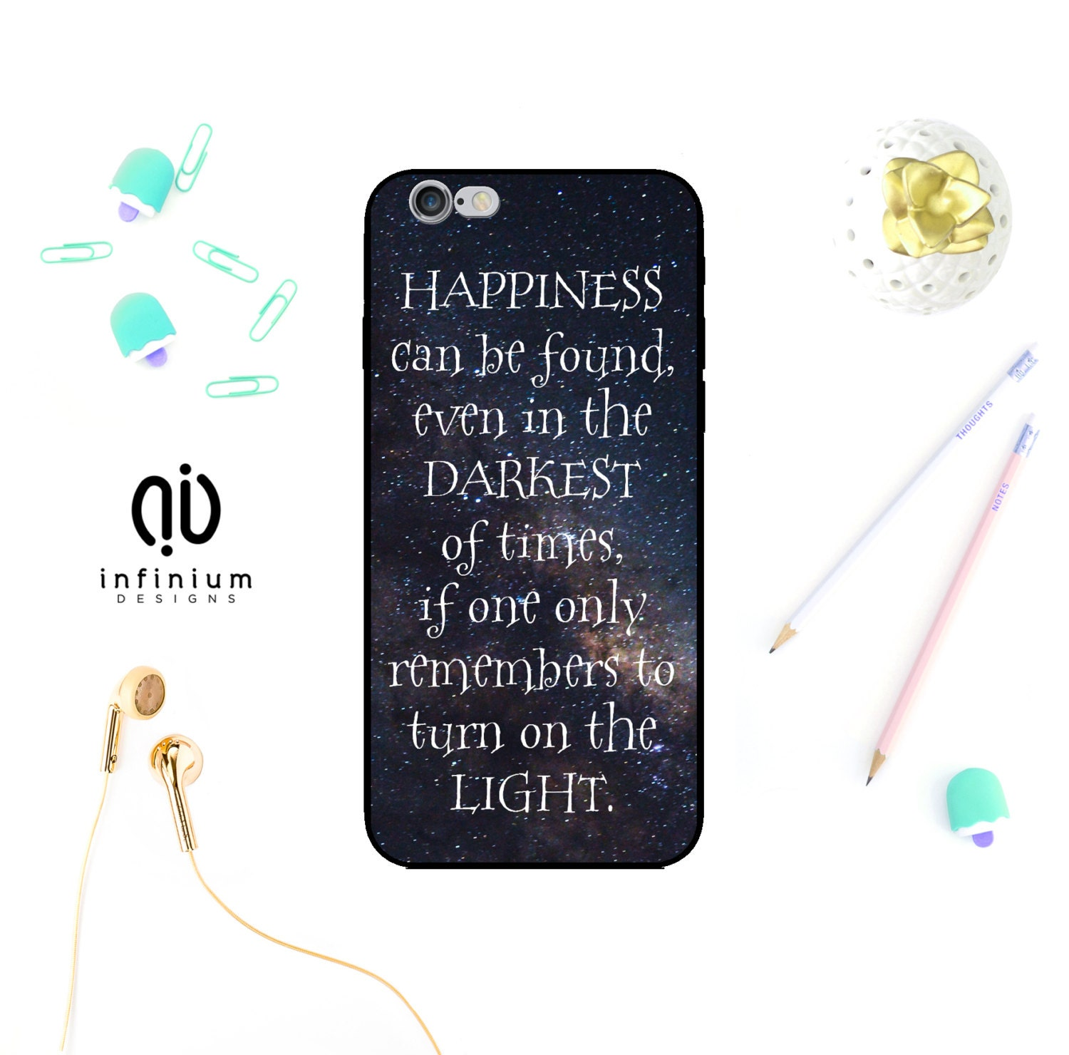 Happiness Case For iPhone 7 Samsung S7 S7 Edge S6 Samsung A5 Galaxy A3 A3 A5 Core Prime 7 Plus iPhone 6S SE 5S  Touch 6