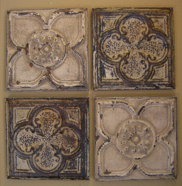 Vintage tin ceiling tiles for sale