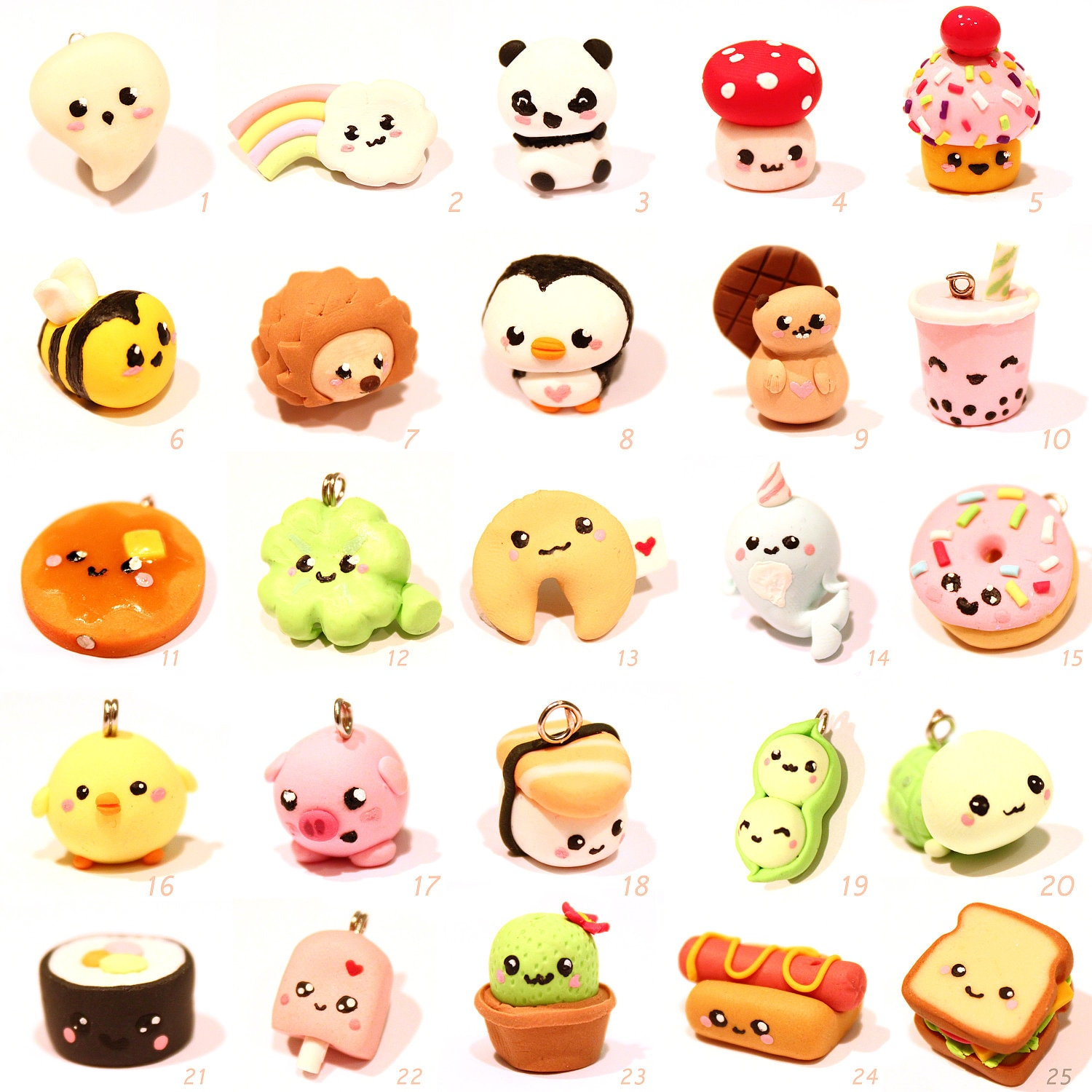 Kawaii charm from kawaii friday by minimums on etsy - Etsy bilder ...