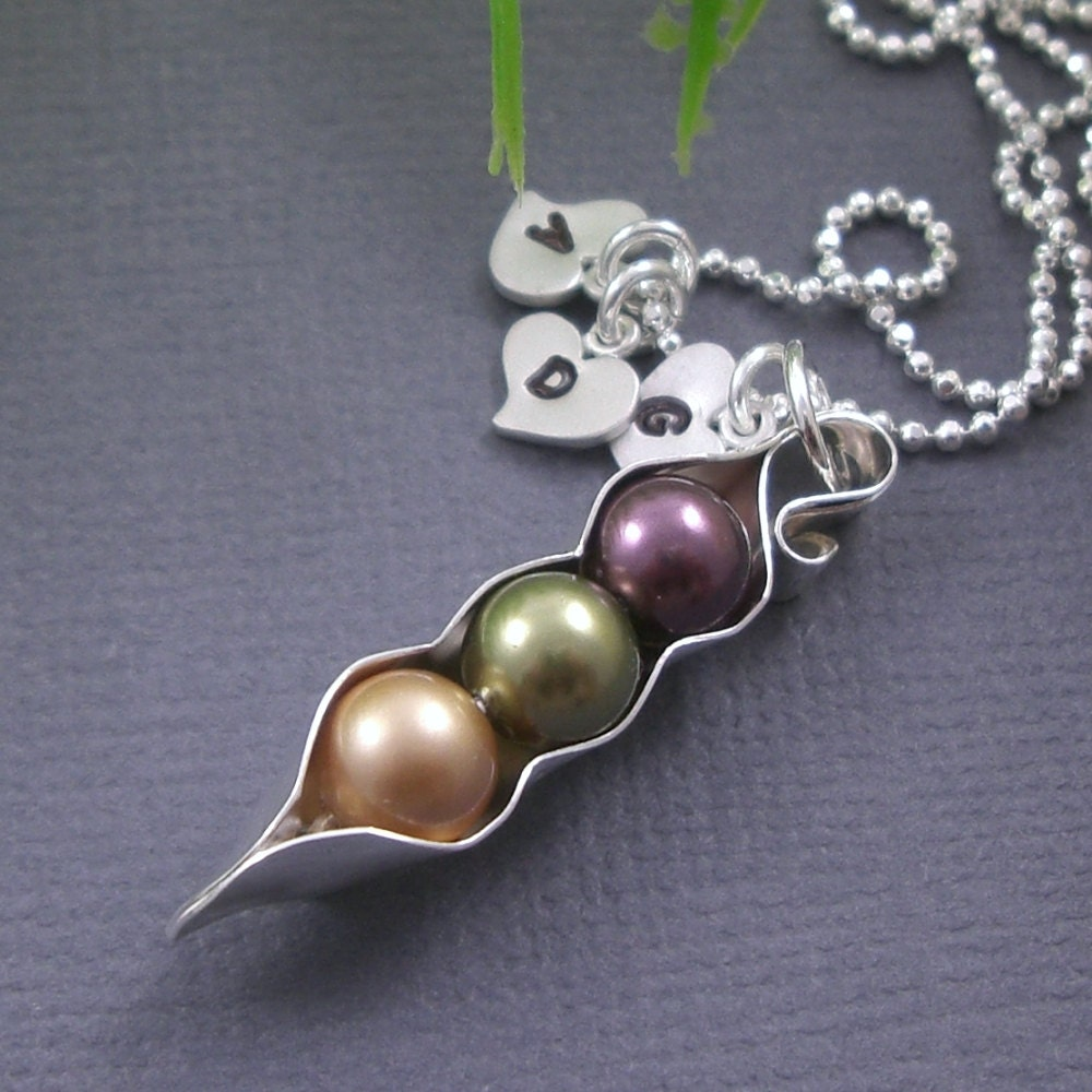 3 peas in a pod sted necklace by jbexclusives