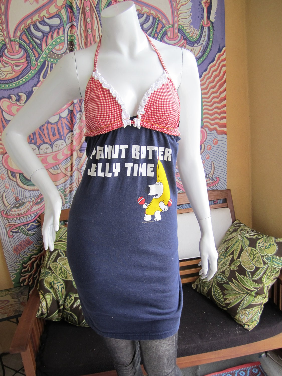 Family guy brian griffin peanut butter jelly by for Peanut butter t shirt dress