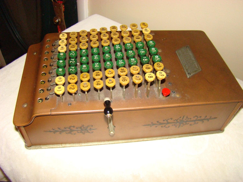 Comptometer Model J, Felt & Tarrant Mfg., Circa 1920 - CenturyAntiqueHome
