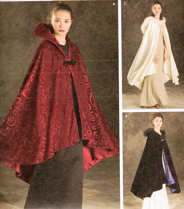 Free Crochet Pattern For Hooded Cape : The gallery for --> Crochet Hooded Cloak Pattern