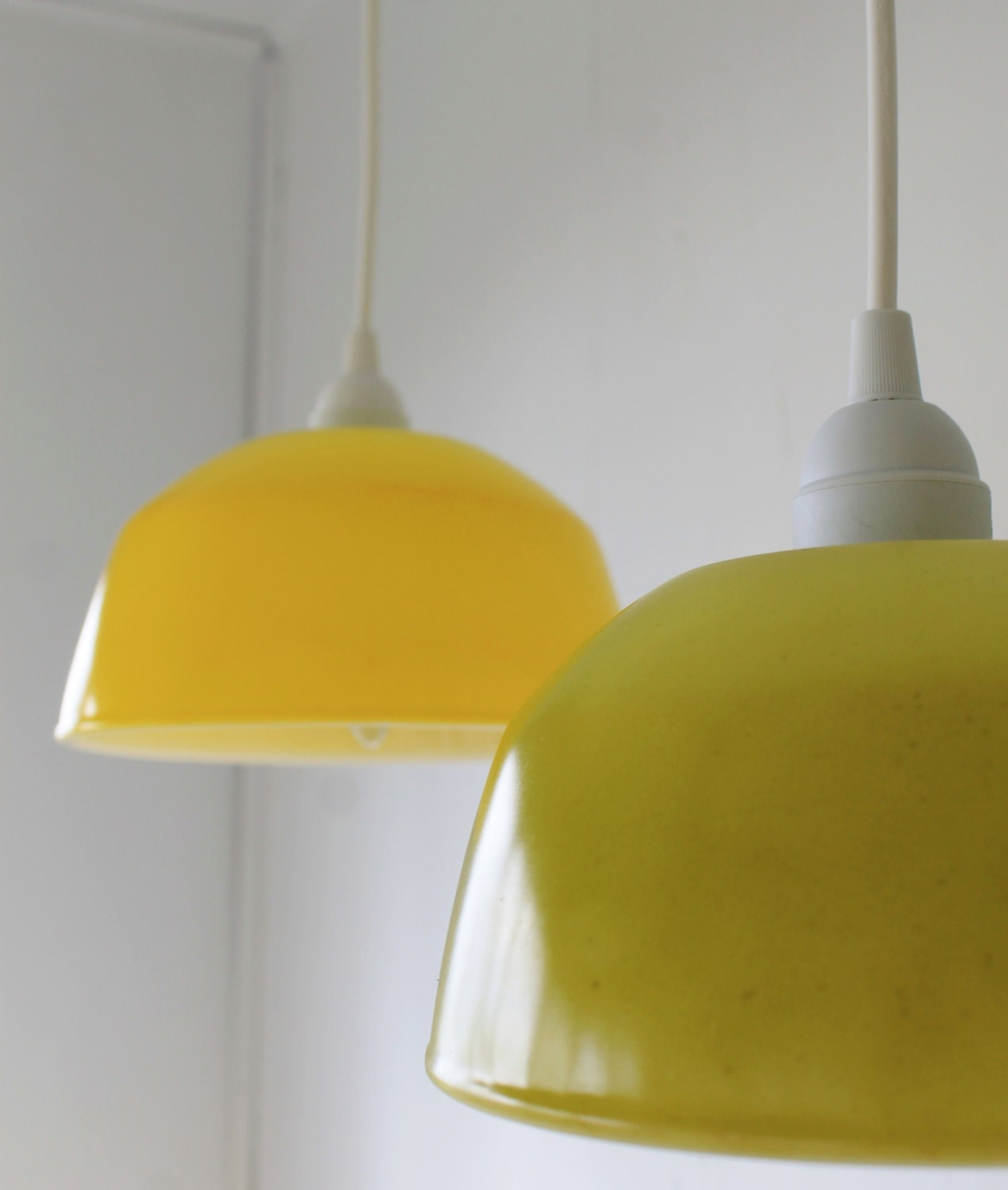 Lemon Lime Upcycled Hanging Pendant Lighting By BootsNGus