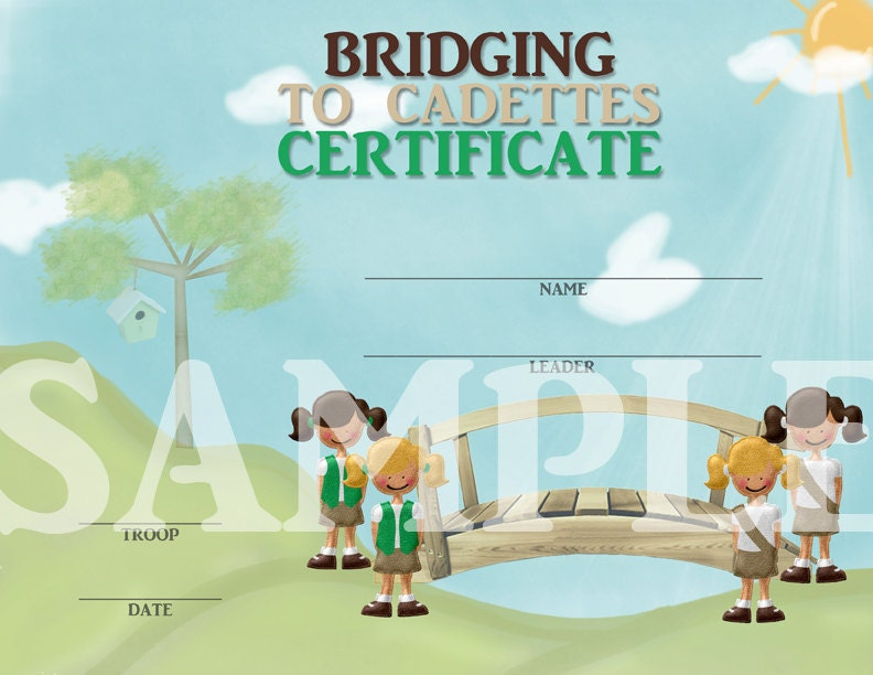 Girl Scouts Bridging to Cadettes by CapturedbyJessPrints ...