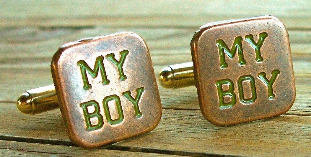 CUFF LINKS - MY BOY